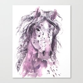 My Pretty Pony in Pink Canvas Print