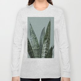 Snake plant in green Long Sleeve T-shirt