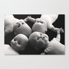 Eyes open Canvas Print