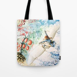 """The flying princess"" Tote Bag"