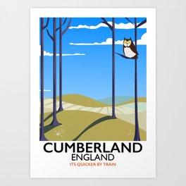 Cumberland England Art Print