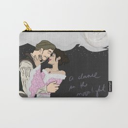 Outlaw Queen - Robin And Regina, a dance in the moonlight Carry-All Pouch