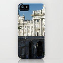 Palacio Real de Madrid iPhone Case