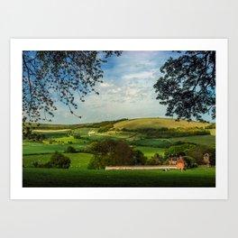 North Wessex Downs Art Print
