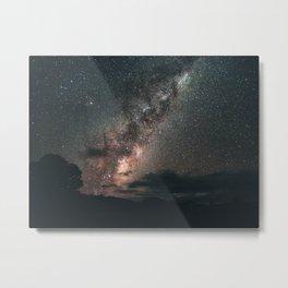 Warrumbungles Milky Way II Metal Print