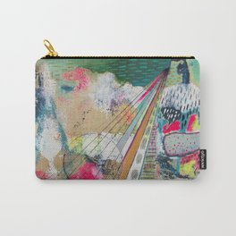 Color Puff by Ashley Reynolds Carry-All Pouch