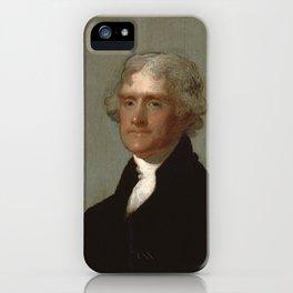 Thomas Jefferson Painting iPhone Case