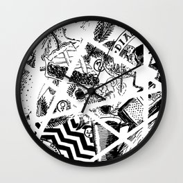 Fire Walk With Me Wall Clock