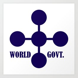 world government Art Print
