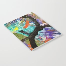 My Life Square Abstract Notebook