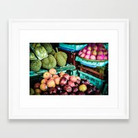 thailand Framed Art Prints featuring thailand by nosoulrobot