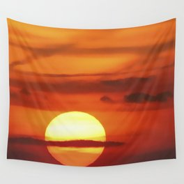 Sunset at Devil's Dyke (UK) Wall Tapestry
