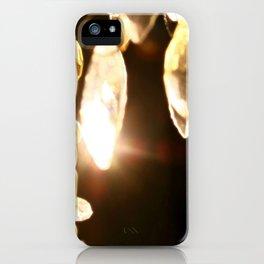 Chandelier Golden Brown iPhone Case