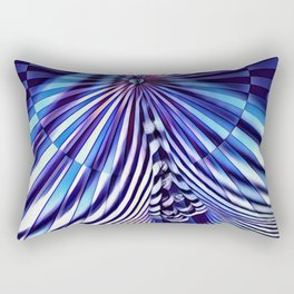 7694s-KMA Abstract Blue Nude Intimate Sexy Hot Rectangular Pillow