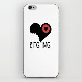 Bite Me iPhone Skin
