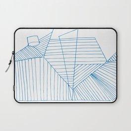 Architectural Blue Print Laptop Sleeve