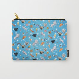 Unicorns, Pugs, Cats, Junk Food Carry-All Pouch