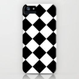 Diamond Black & White iPhone Case