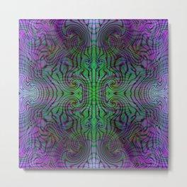 Tryptile 17 (Tile 2) Metal Print