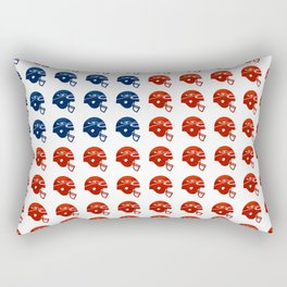 American Football Flag Rectangular Pillow