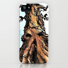 Crow Tree iPhone Case