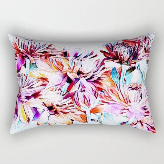 Mums the Word Rectangular Pillow