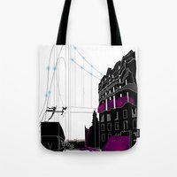 book cover Tote Bags featuring Emergence - Book Cover by svitka