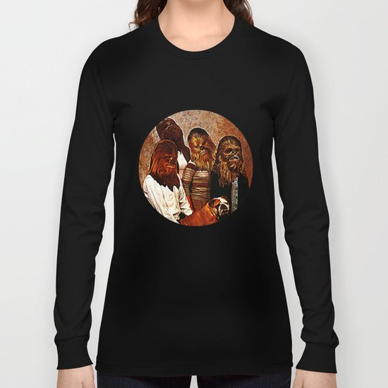 Wookiee Family Portrait  |  Star Wars Long Sleeve T-shirt