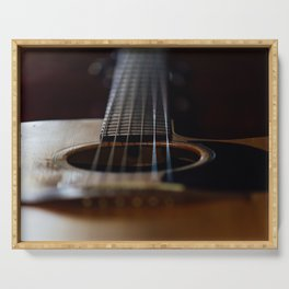 Acoustic Serving Tray