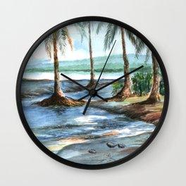 BEACH FLOW Wall Clock