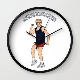 Feel the Bernie Wall Clock