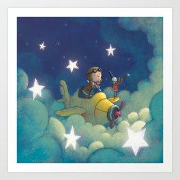 Dreams in the Stars Art Print
