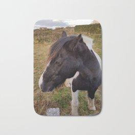 Horse - Aran Islands,Inis Mor, Ireland Bath Mat