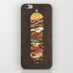 Burger iPhone & iPod Skin
