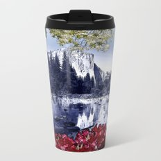 Reflections of El Capitan Metal Travel Mug