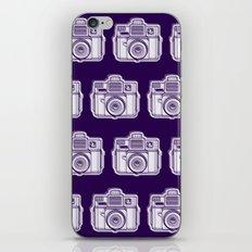 I Still Shoot Film Holga Logo - Reversed Deep Purple iPhone Skin