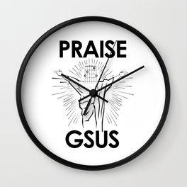Praise G-Sus Guitar Chord Wall Clock