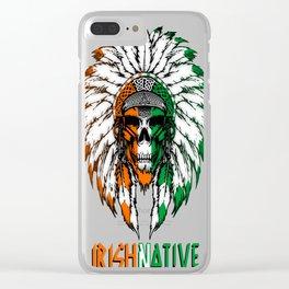 Irish Native Clear iPhone Case