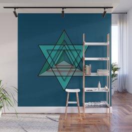 Star Tetrahedron Wall Mural