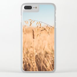 Reaping Time Clear iPhone Case