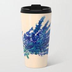 Fresh Cut Lavender Watercolors On Paper Edit Metal Travel Mug