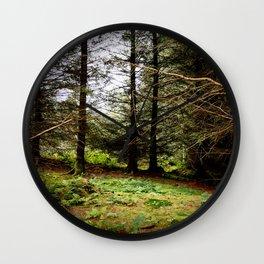 Woodland Copse Wall Clock