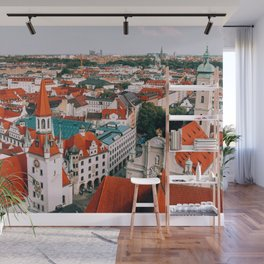 Hues Line is it Anyway? | Munich, Germany Wall Mural
