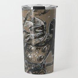 Viking Warrior (DRAWLLOWEEN 13/31) Travel Mug