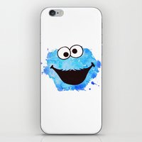 cookie iPhone & iPod Skins featuring Cookie by Cookstar