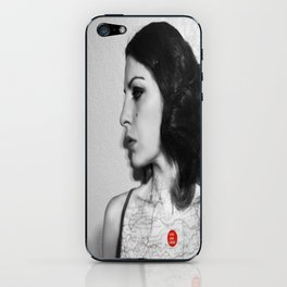 You are here in my heart iPhone Skin
