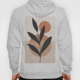 Abstract Minimal -Plant 7 Hoody