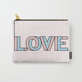 .LOVE II. Carry-All Pouch