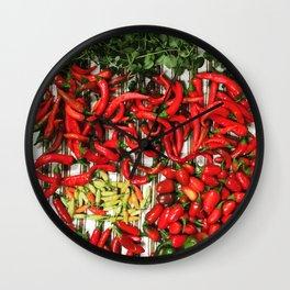 So Many Chiles... Wall Clock