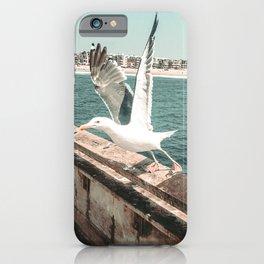 Seagull Taking Flight // California West Coast Pier Vibes Beach Ocean Surf City USA iPhone Case